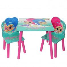 Set masuta si 2 scaunele Shimmer & Shine