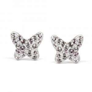 Dianne - Cercei Argint si Cristale Swarovski - Crystal, BijouxMAG