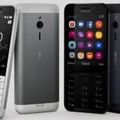 Telefon mobil Nokia 230 Single Sim Black&White Nou Sigilat P213, Negru, Neblocat