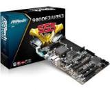 Kit placa baza AM3+ ASROCK 980DE3 cu procesor quad FX-4100 , GARANTIE, Pentru AMD, AM3+, DDR 3