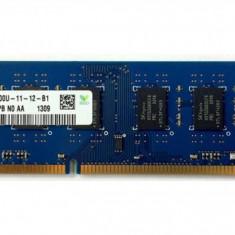 Memorie RAM SK Hynix 4GB DDR3 1600Mhz 2Rx8,Dual (functioneaza si pe sk 775), DDR 3, 4 GB, 1600 mhz, Kingston