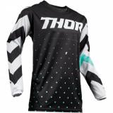 Tricou motocross copii Thor Pulse Stunner negru/alb marime L Cod Produs: MX_NEW 29121667PE