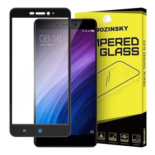 Folie Sticla Xiaomi Redmi 4A Wozinsky Full Screen Black