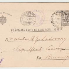 1913 CP catre Valentina sotia lui Filip LAHOVARY,  C. ARGETOIANU, Henri CATARGI
