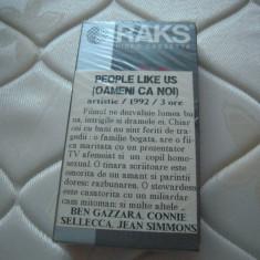 LOT de 2 caseta video VHS RAKS E180