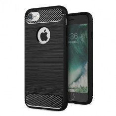 Husa Iphone 6 6S 6SE Iberry Carbon Black, iPhone 6/6S, Plastic, Carcasa