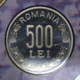 Moneda 500 lei 2004 PROOF (din set monetarie)