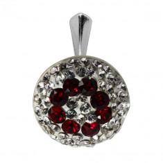 Augustina - Pandantiv Argint si Cristale Swarovski , BijouxMAG