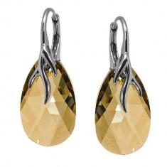 Queen - Cercei Argint si Cristale Swarovski, BijouxMAG