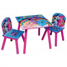 Set masuta si 2 scaunele My Little Pony Dream Big