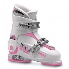 Clapari reglabili copii Roces Idea Up White/Pink 2 clape