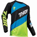 Tricou motocross copii Thor Sector Shear negru/verde marime L Cod Produs: MX_NEW 29121682PE