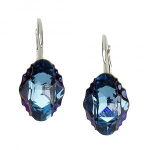 Roseline- Cercei Argint si Cristale Swarovski, BijouxMAG