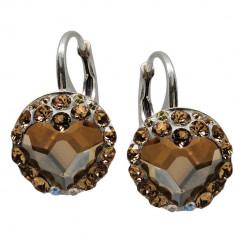 Loveful - Cercei Argint si Cristale Swarovski , BijouxMAG