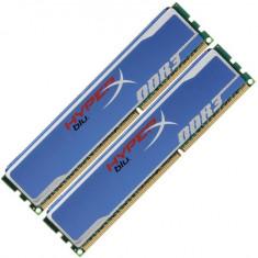 KIT Memorii Kingston 2 bucati 4Gb DDR3=8Gb 1600Mhz PC3-12800 - 2Rx8, Ram PC, DDR 3, 8 GB, Dual channel