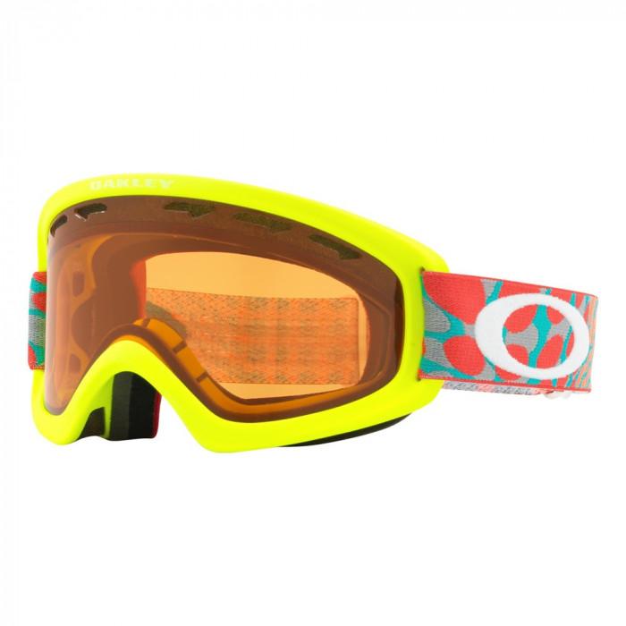 Ochelari Oakley O Frame 2.0 XS Octo Flow Retina Red Persimmon