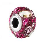 Kyte -Talisman Compatibil cu Bratarile Tip Pandora din Cristale Swarovski - Rose, BijouxMAG