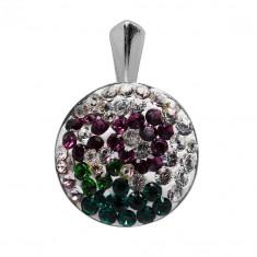 Margarett - Pandantiv Argint si Cristale Swarovski , BijouxMAG