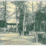 3073 - DETTA, Timis, Park, Romania - old postcard - used - 1910, Circulata, Printata