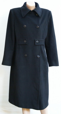 Palton negru Cinzia Rocca foto