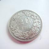 ELVETIA 2FR.1875 ARGINT O PIESA RARA !, Europa