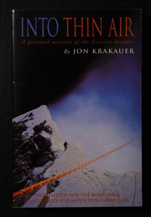 Jon Krakauer - Into Thin Air (În aerul rarefiat)