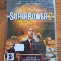 Super Power (Superpower)2 PC sigilat, Strategie, 3+, Single player
