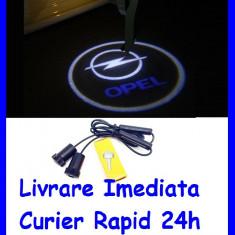 Lumini sub USI Opel , Holograma Usa tip Proiector sub usa 7W  AL-ER-W