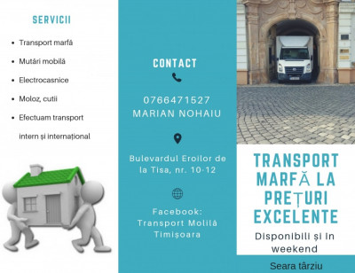 Transport marfă, Timișoara foto