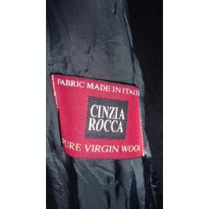 Palton negru Cinzia Rocca