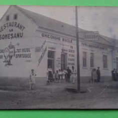 Cluj  Campia Turzii - Restaurant la Somesanu - Reclama Vin Bere