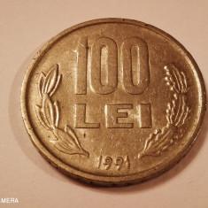 ROMANIA  100 lei 1991