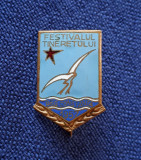 Insigna Reg. Constanta - Festivalul Tineretului 1957