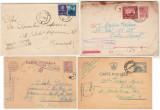Basarabia Transnistria WW2 - 4 Cenzuri militare TIGHINA, BALTI, SOROCA, CHISINAU