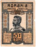 Bancnota  50 bani 1917