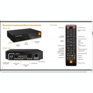 Receiver HD Samsung Orange