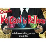 Truc de magie Comedy No Card in Balloon de Quique Marduk
