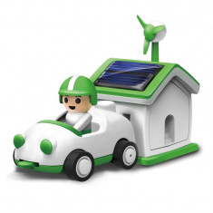 Jucarie masinuta si casa solara Green Life, 8 ani+