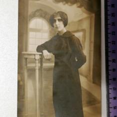 FOTOGRAFIE VECHE TIP CARTE POSTALA - FOTO SPLENDID N. BUZDUGAN -BUCURESTI - 1914