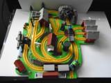 bnk jc Thomas & Friends - Set miniatura cu trenulete - Bluebird Toys 1997 - rar