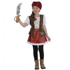 Costum Pirat Fetite 7-8 ani - Carnaval24