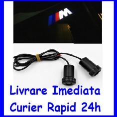 Lumini sub USI M BMW , Holograma Usa tip Proiector sub usa 7W  AL-ER-M