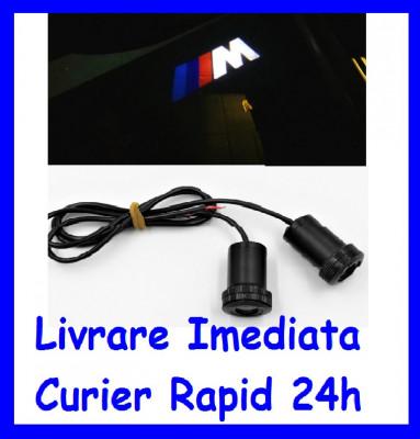 Lumini sub USI M BMW , Holograma Usa tip Proiector sub usa 7W  AL-ER-M foto