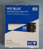 WD Blue 3D NAND 500GB SSD - SATA III M.2 2280 Solid State Drive - WDS500G2B0B, 500 GB, Western Digital