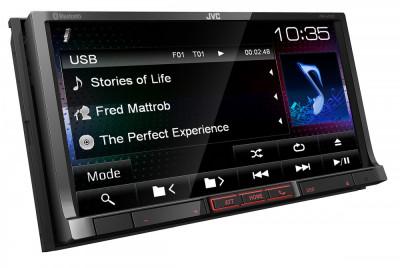 "Sistem multimedia 7"" JVC KWV41BTE Future Technology foto"