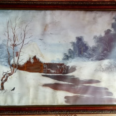 Tablou in ulei pe panza, Peisaje, Realism