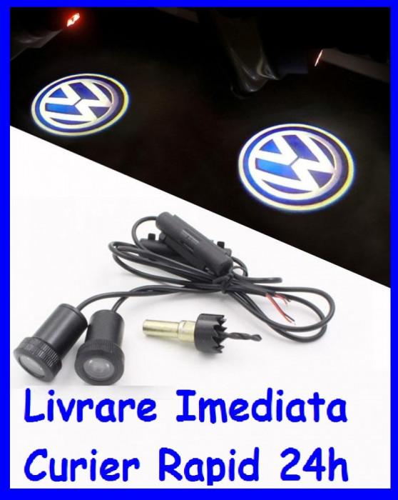 Lumini sub USI VW , Holograma Usa tip Proiector sub usa 7W  AL-ER-W