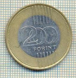 11313 MONEDA - UNGARIA - 200 FORINT - ANUL 2009 -STAREA CARE SE VEDE