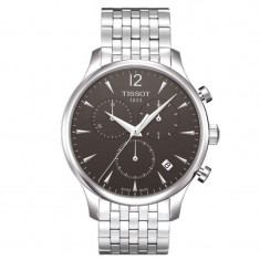 Tissot Tradition Chronograph Stainless Steel Black Dial ! Produs original !