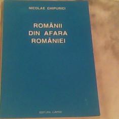 Romanii din afara Romaniei (documente)-Nicolae Chipurici